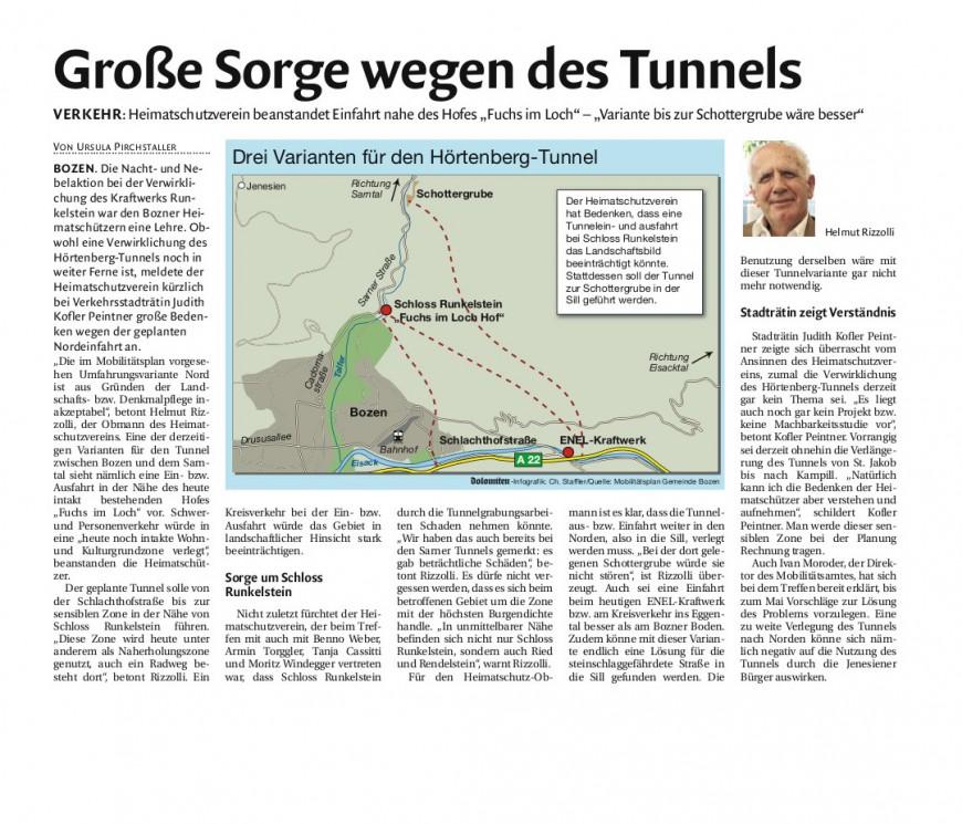 Presse-Tunnel
